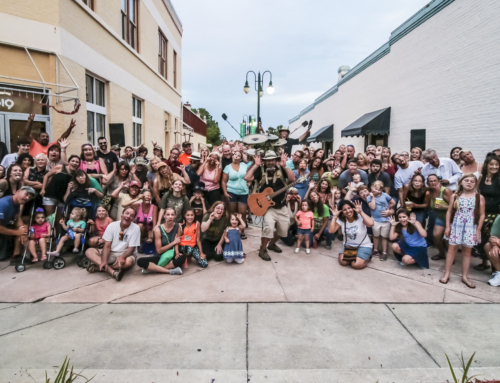 Titusville Busker Fest 17 SillyFace
