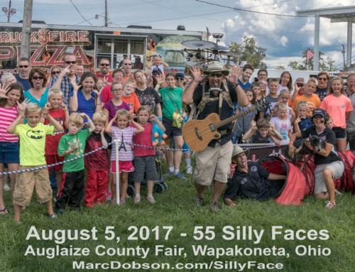 Auglaize County Fair 17 SillyFace